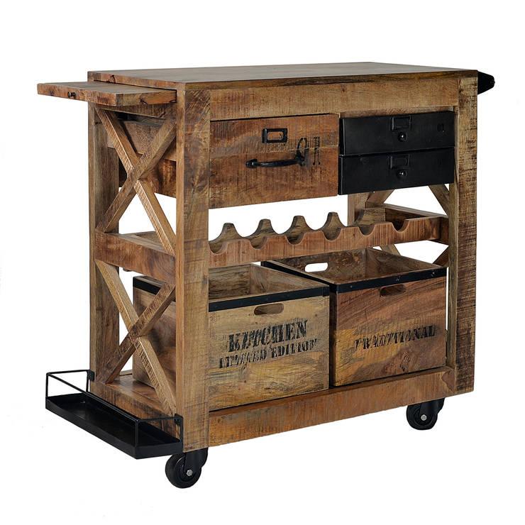 Muebles auxiliares de cocina funcionalidad con clase for Mueble auxiliar cocina con ruedas