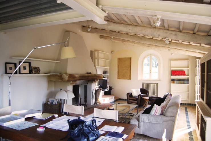 7 esempi di case in stile toscano da favola for Case in stile mattone