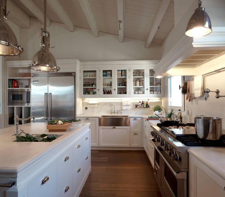 Cocina de estilo americano de deulonder arquitectura for Cocina estilo americano