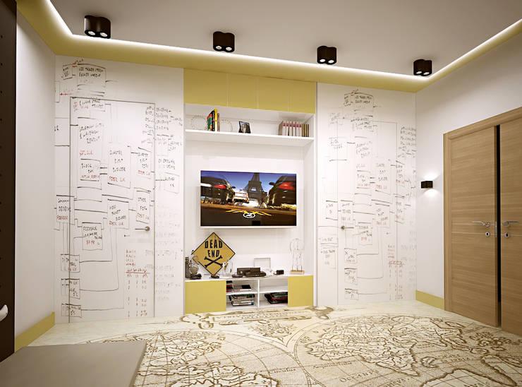 Авеню 77-11: Детские комнаты в translation missing: ru.style.Детские-комнаты.eklektichnyy. Автор - ООО 'Студио-ТА'