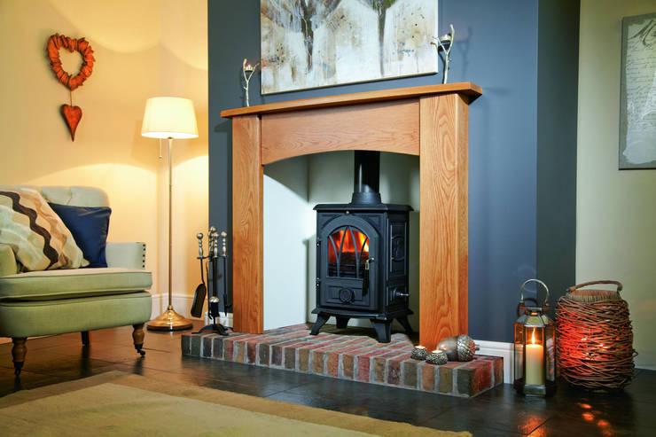 Salon de style de style Moderne par Fiveways Fires & Stoves
