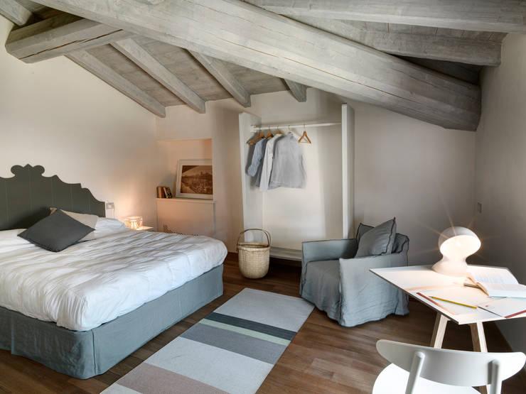 5 spettacolari camere da letto in mansarda - Camera da letto in mansarda ...