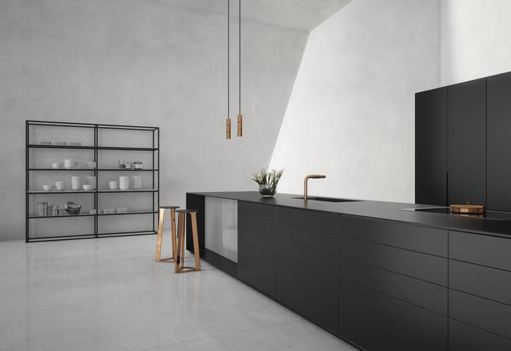 Cozinhas minimalistas por press profile homify