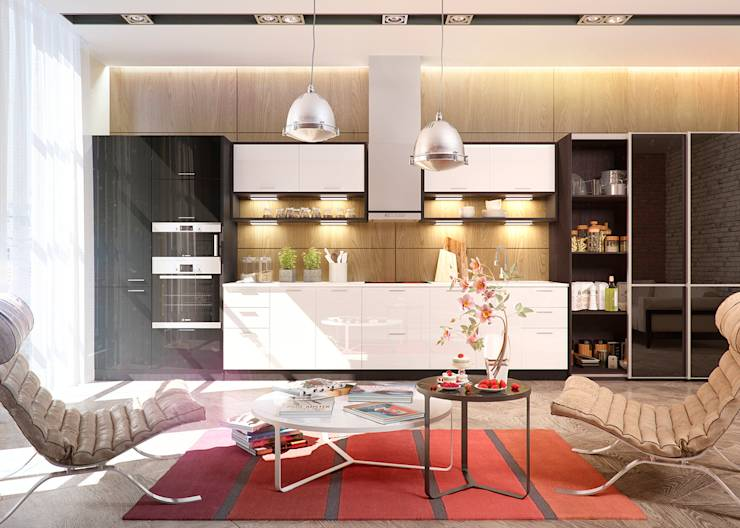 10 campanas de cocina funcionales y decorativas for Valor cocina industrial