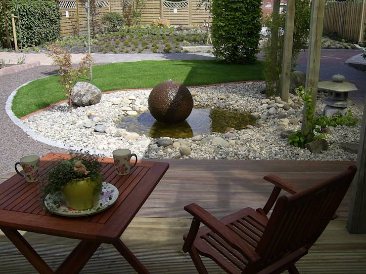10 dise os de fuentes para jardines modernos - Fuentes de jardin modernas ...