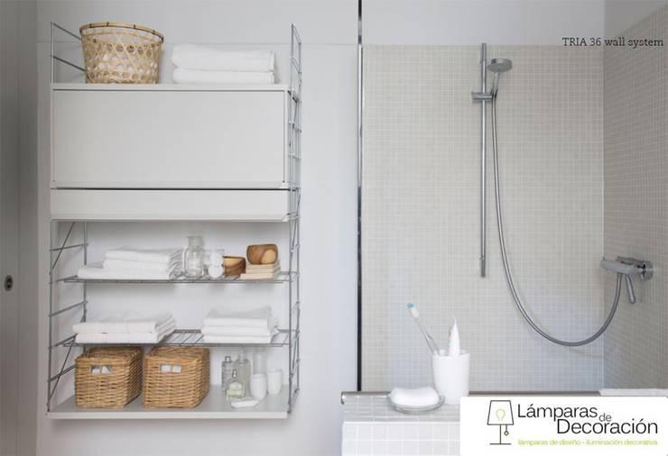 Lamparas Para Baños Minimalistas:Muebles de Diseño: Baños de estilo minimalista de LÁMPARAS DE