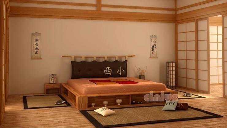 Interior design come arredare con mobili giapponesi di cinius homify - Camere da letto stile giapponese ...