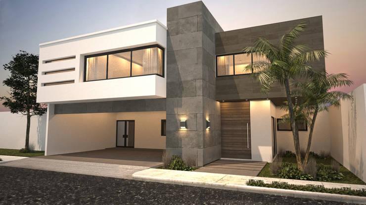 25 fachadas modernas que debes ver antes de construir la tuya for Casas estilo moderno