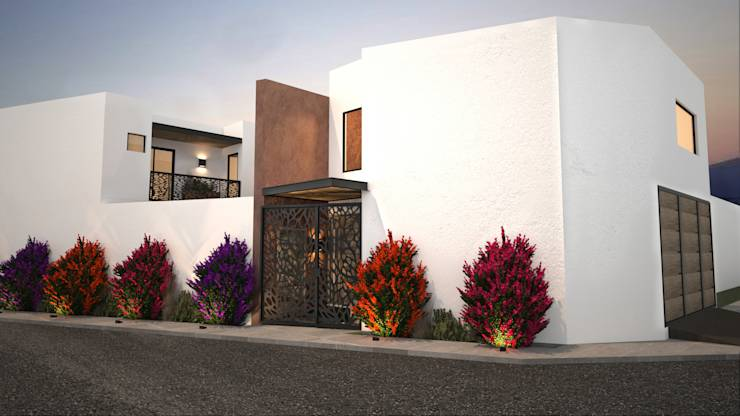 13 fachadas en 3d que te inspirar n a dise ar la casa de Casas griegas antiguas