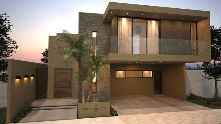 36 fachadas de dos pisos que te dar n ideas para dise ar for Casas modernas revestidas en piedra