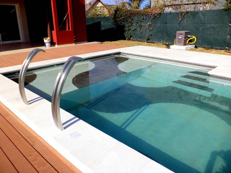 piscinas familiares de piscinas scualo homify