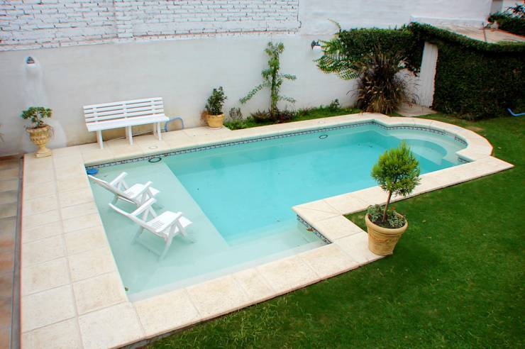 10 piscinas peque as para tu patio for Piscina q es