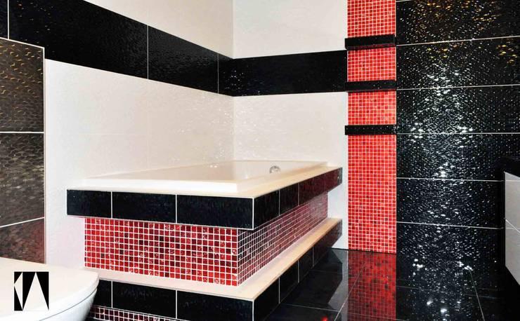 Laat de badkamer sprankelen met moza ek - Idee mozaieken badkamer ...