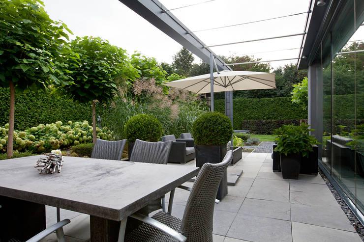De mooiste idee n voor smalle langwerpige tuinen - Weergaven tuin lange ...