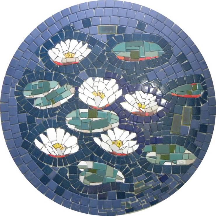 Pisos em mosaico mandalas em mosaico para pisos e for Mosaico pavimento
