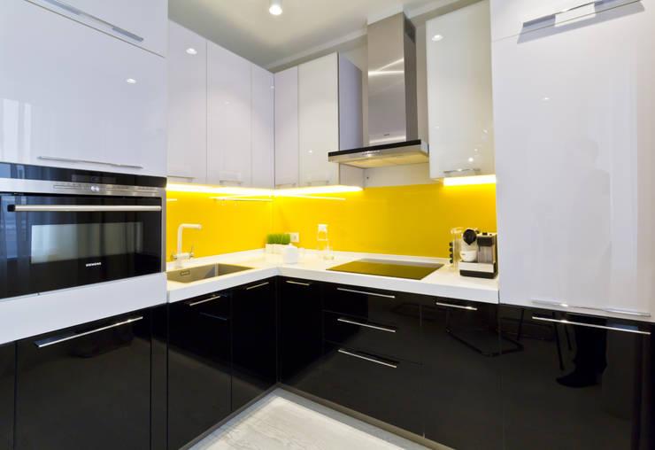 10 fantastici esempi per i colori della cucina - Cucine moderne gialle ...