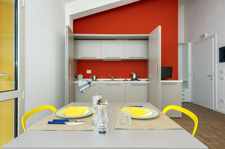 10 fantastici esempi per i colori della cucina - Colori pareti cucina rustica ...