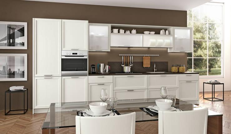 Le cucine bianche modelli e stili diversi - Pensili cucina prezzi ...