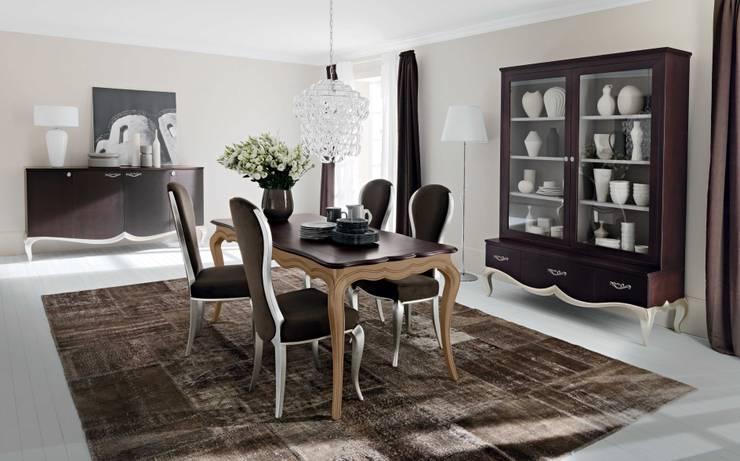 Sala da Pranzo Bouquet: Sala da pranzo in stile in stile Classico di ...