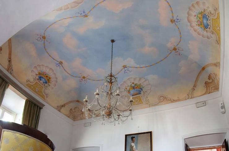 Dipinti murali su soffitti di pigmenta arte murale homify - Dipinti murali per interni ...