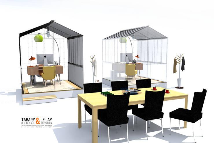 l 39 invisible petite serre de nantes par tabary le lay homify. Black Bedroom Furniture Sets. Home Design Ideas