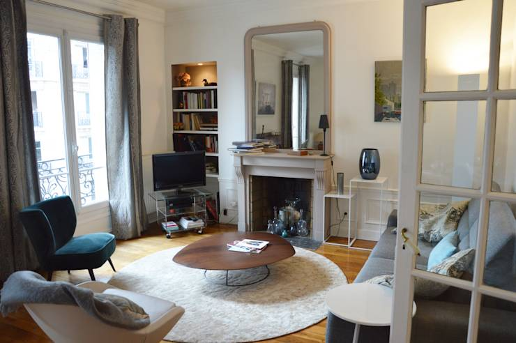 Salon haussmannien par parisdinterieur homify for Salon haussmanien