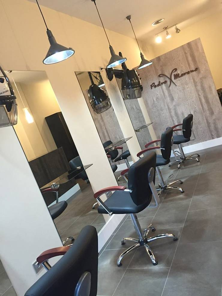 Proyecto de adaptaci n antes y despues de peluqueria en jerez de la frontera de hugo castro hc - Proyecto de peluqueria ...