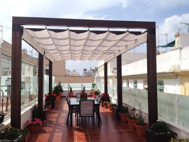 Gimnasio de cristal lumon y techo movible de cristal - Terraza de cristal ...