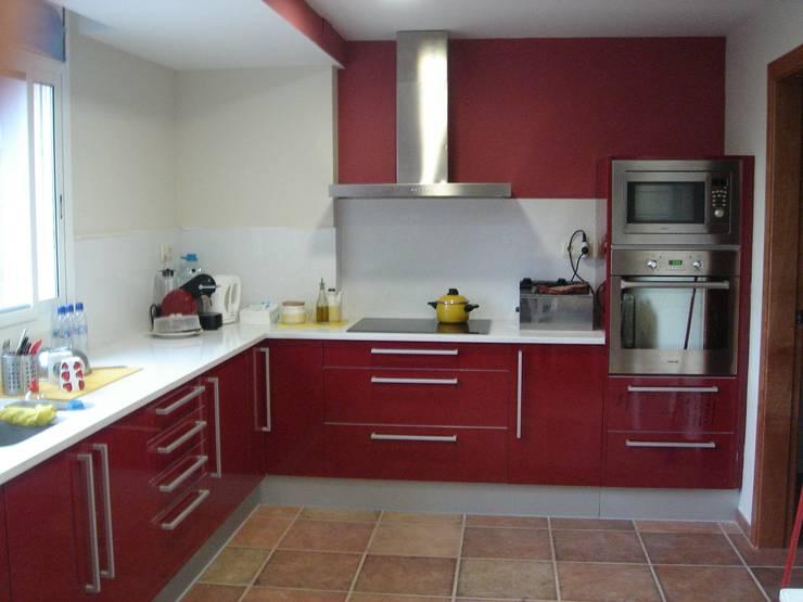 10 cocinas integrales modernas y fant sticas - Cocinas rojas modernas ...