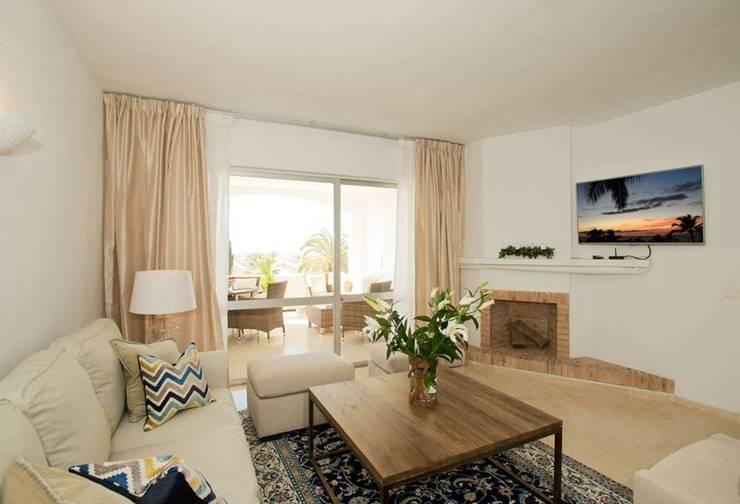Ideas para elegir cortinas para living for Cortinas comedor rustico