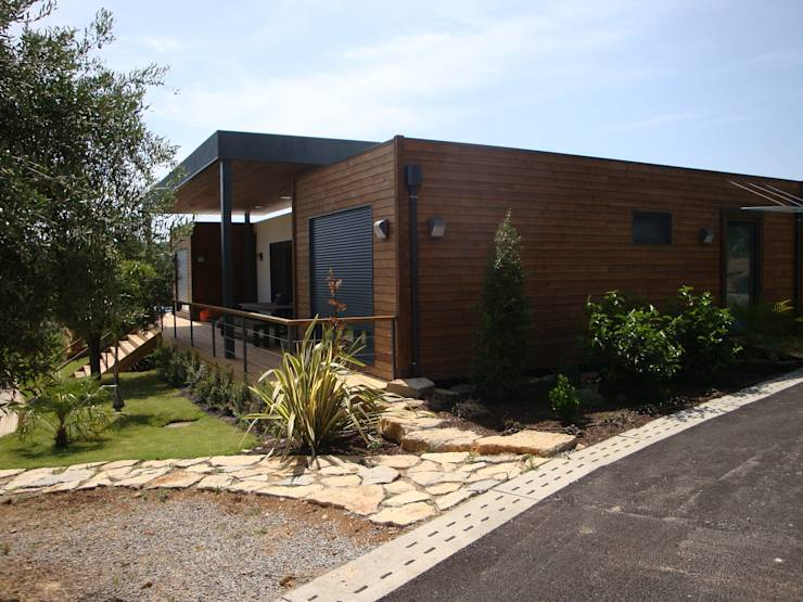 Casas modulares amoviveis por kitur homify - Casa prefabricadas portugal ...