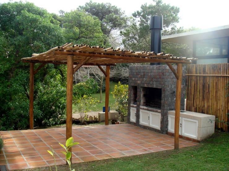 Como construir uma churrasqueira com baixo or amento for Asadores de jardin de ladrillo