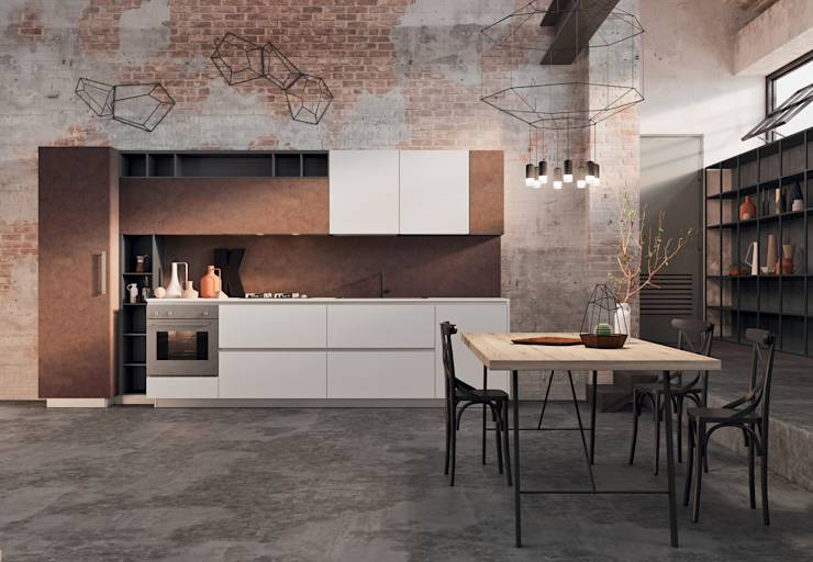 Spring urban the industrial style by dibiesse di dibiesse spa homify - Cucine urban style ...