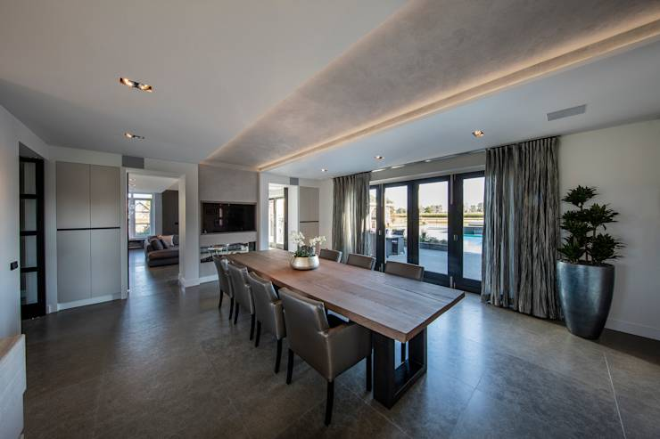 Rustic chic villa door medie interieurarchitectuur homify - Moderne interieurarchitectuur ...
