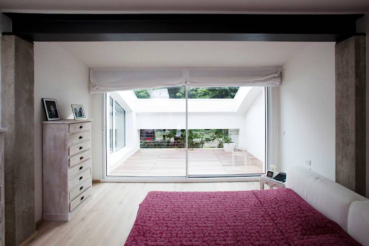 Come arredare la camera da letto con le tende a pacchetto