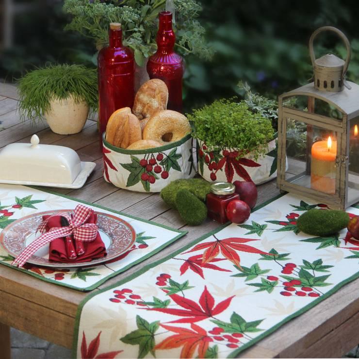 einfallsreiche tischdeko f r weihnachten. Black Bedroom Furniture Sets. Home Design Ideas