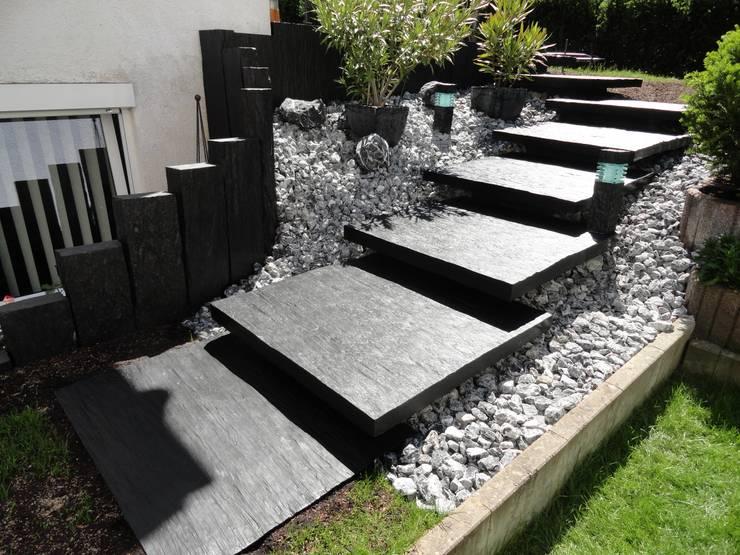 15 prachtige tuinpaden creatief en anders dan anders - Moderne tuin ingang ...
