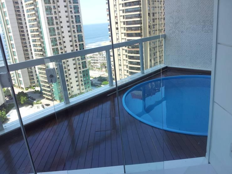 10 piscinas pequenas 10 grandes sonhos - Lucio barcelona decoracion ...