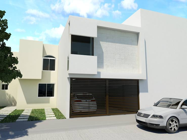Transformaciones asombrosas 5 fachadas antes y despu s - Planos de la casa blanca ...