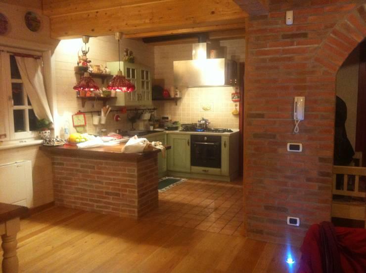 Comment agencer une cuisine rustique for Agencer une cuisine couloir