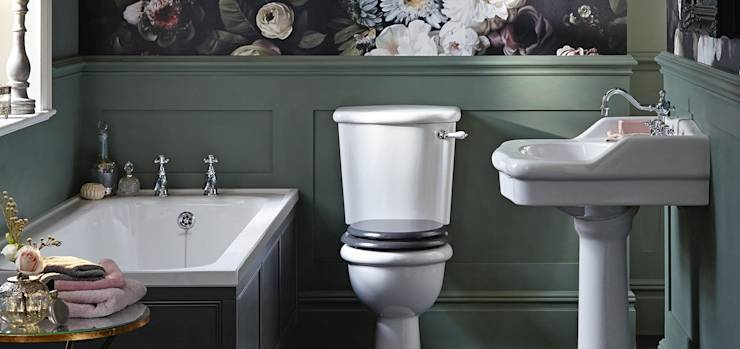 classic Bathroom by Heritage Bathrooms
