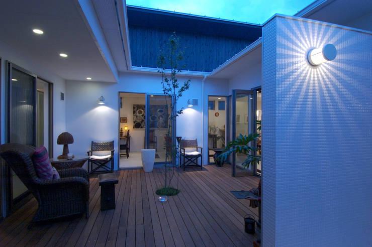 translation missing: my.style.terrace.modern Terrace by スタジオ・ベルナ