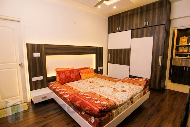 6 headboard designs for a cosy bed for Wall bed bangalore