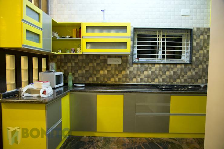A glimpse to a renovated house in bangalore for Kitchen designs bangalore