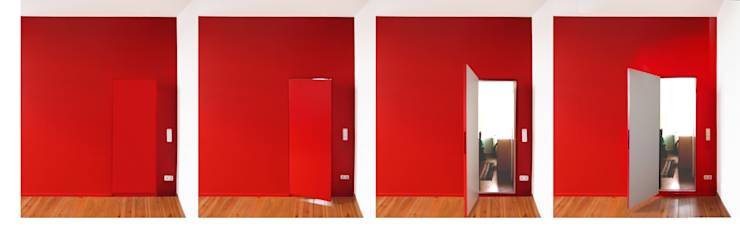Puertas y ventanas de estilo moderno por Meylenstein
