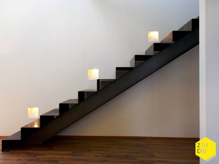Iluminaci n de escaleras 6 ideas fant sticas - Escaleras con led ...