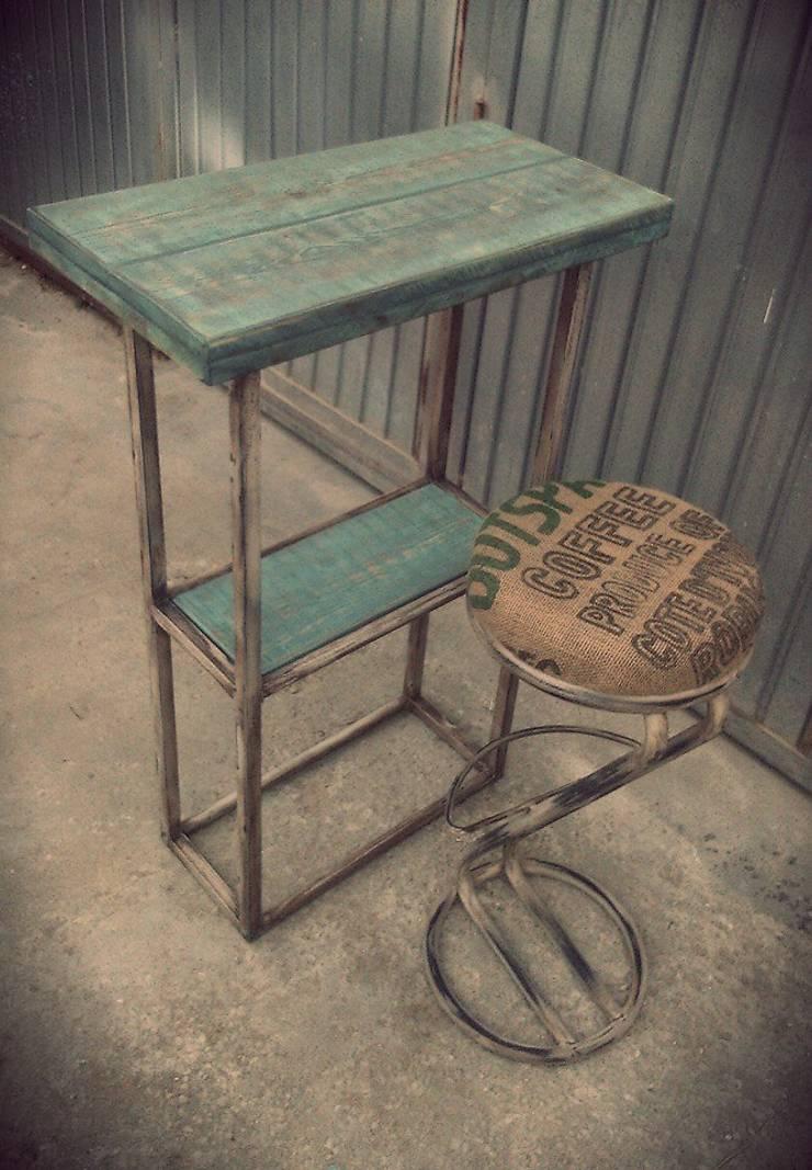 Mobiliario para cafeteria di desvan vintage homify - Desvan vintage ...
