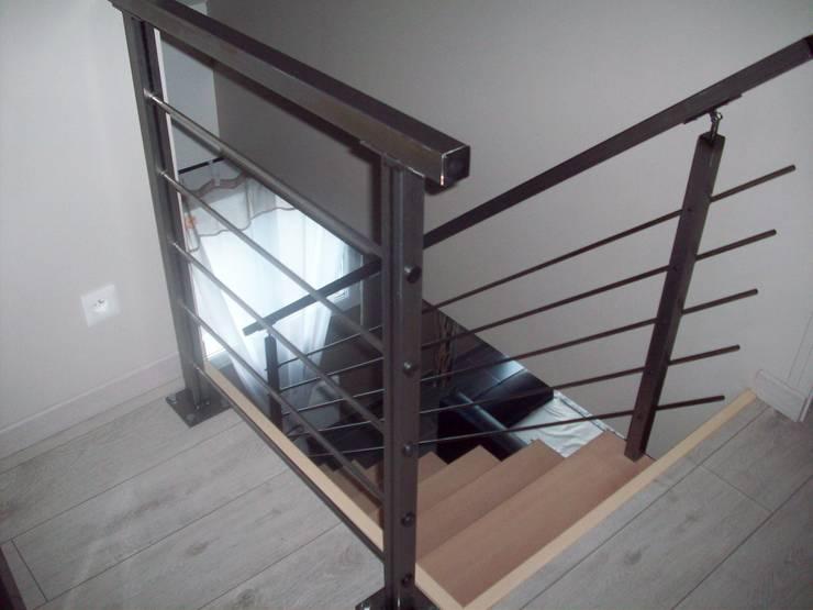 garde corps et rambarde by metal brut homify. Black Bedroom Furniture Sets. Home Design Ideas