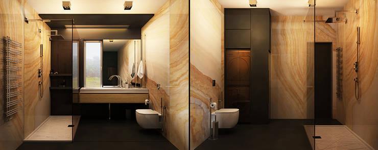 H4: Ванные комнаты в translation missing: ru.style.Ванные-комнаты.loft. Автор - he.d creative group