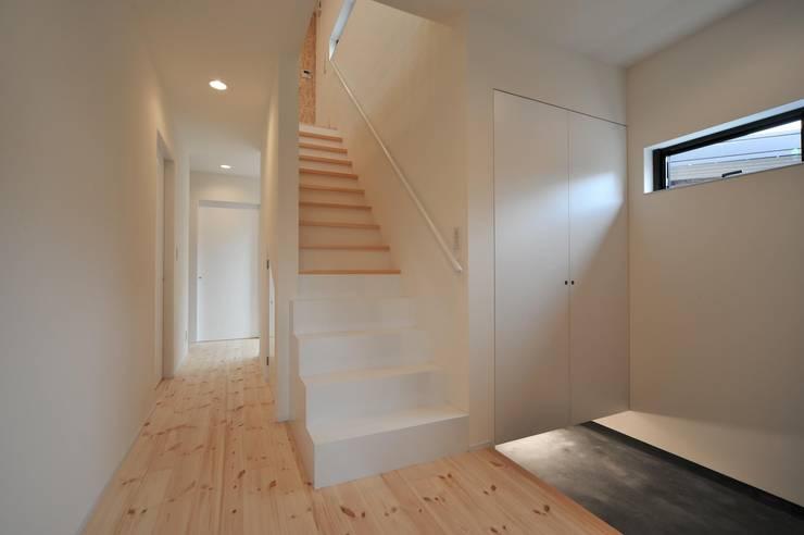 translation missing: tw.style.玄關-走廊與階梯.minimalist 玄關、走廊與階梯 by 若山建築設計事務所